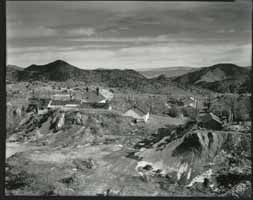 Quarry Tailings and Houses - Virginia City | William Binzen Photography